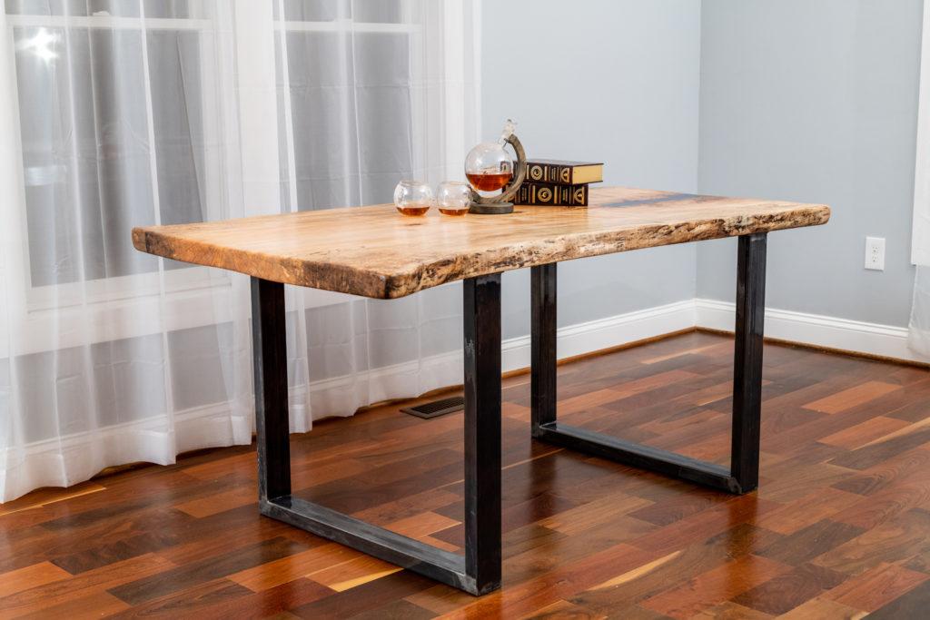makers woodshop live edge slab