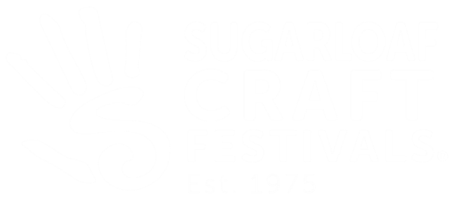 sugarloaf craft festivals logo white version
