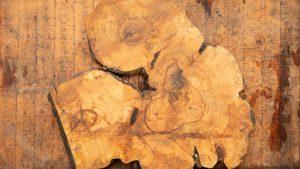 Ash Cookie wood slab 38in width by 49in length