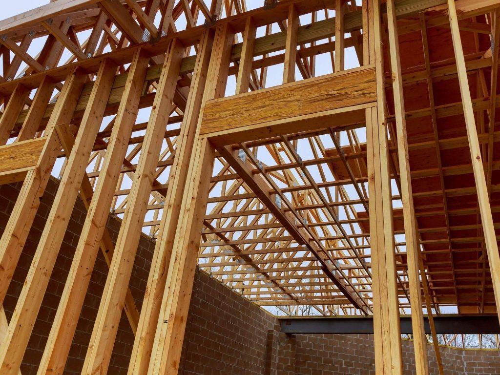 dimensional lumber house framing
